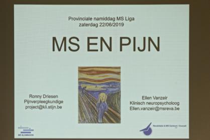 provinciale dag MS en pijn