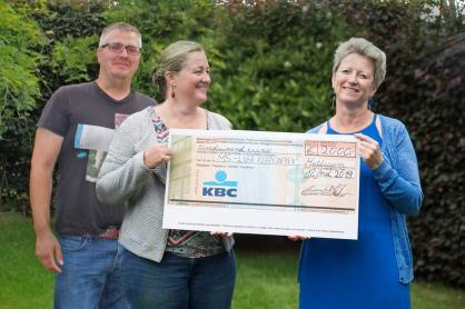 overhandiging cheque