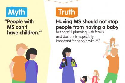 personen met MS kunnen kinderen krijgen, maar het is zeer belangrijk om familie en dokter hierin te betrekken