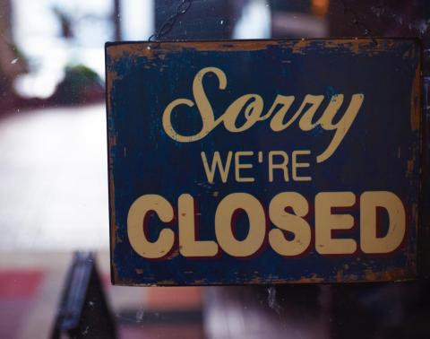 gesloten