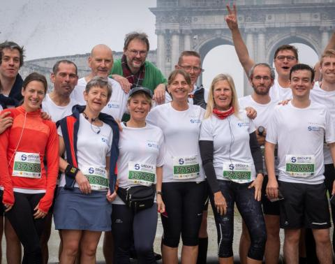 20km door brussel MS-Liga Vlaanderen team 2019